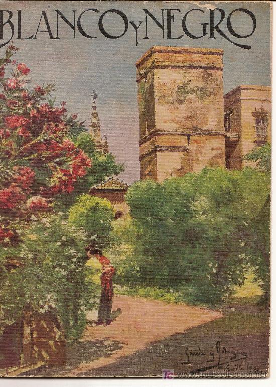 BLANCO Y NEGRO ,-10-11-1924 (Coleccionismo - Revistas y Periódicos Antiguos (hasta 1.939))