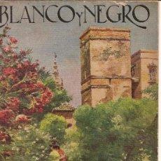 Coleccionismo de Revistas y Periódicos: BLANCO Y NEGRO ,-10-11-1924. Lote 25404316