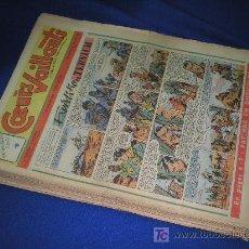 Coleccionismo de Revistas y Periódicos: LOTE DE REVISTAS COEURS VAILLANTS - 24 NUMEROS - AÑO 1956 EN FRANCES . Lote 18066109