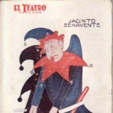 Coleccionismo de Revistas y Periódicos: EL TEATRO MODERNO.JACINTO BENAVENTE.EL HIJO DE POLICHINELA AÑO 1927 Nº 115 DE PRENSA MODERNA.. Lote 24521662