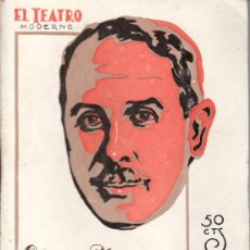 Coleccionismo de Revistas y Periódicos: EL TEATRO MODERNO.AÑO 1928 Nº 167 -DON LUIS MEJIA.E.MARQUINA Y A.HDEZ CATÁ. Lote 22472965