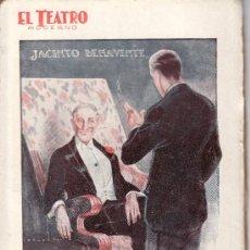 Coleccionismo de Revistas y Periódicos: EL TEATRO MODERNO.AÑO 1926 Nº 67 -LOS NUEVOS YERNOS DE JACINTO BENAVENTE. Lote 24708207