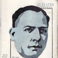 Coleccionismo de Revistas y Periódicos: EL TEATRO MODERNO.AÑO 1930 Nº 247 -LA DIVINA FICCION DE LUIGI GHIARELLI. Lote 21341113