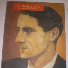 Coleccionismo de Revistas y Periódicos: HORA XXV Nº 37. Lote 24078489