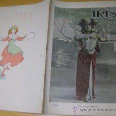 Coleccionismo de Revistas y Periódicos: REVISTA IRIS - BARCELONA 3 FEBRERO 1900 Nº 39. Lote 8425507