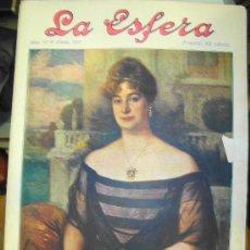 Coleccionismo de Revistas y Periódicos: REVISTA LA ESFERA. Nº 312.. Lote 8443918
