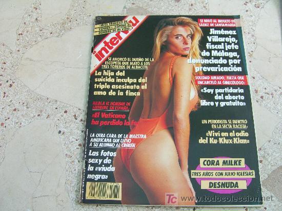 Interviu Nº 780 Cora Milke Desnudaroberta Kel Sold At Auction