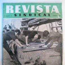 Coleccionismo de Revistas y Periódicos: REVISTA ANTIGUA SINDICAL - Nº 54 - FEBRERO 1948. Lote 8544165