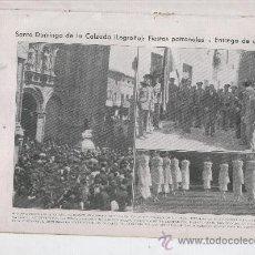 Coleccionismo de Revistas y Periódicos: 1933 SANTO DOMINGO DE LA CALZADA LA RIOJA ARLANZON GODELLA FERNANDO POO GUINEA CORNELLA. Lote 22939307