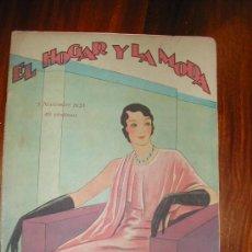 Coleccionismo de Revistas y Periódicos: EL HOGAR Y LA MODA. Lote 27060150