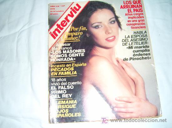 Interviu Nº 127 Amparo Muñoz Desnudaandrea Be Sold At Auction