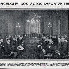 Coleccionismo de Revistas y Periódicos: MANCONUNIDAD 1914 BARCELONA HOJA REVISTA. Lote 8736518