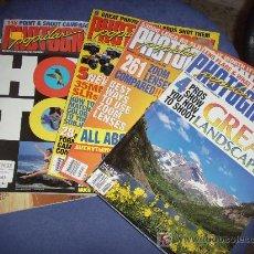 Coleccionismo de Revistas y Periódicos: 5 REVISTAS EN INGLÉS DE FOTOGRAFÍA. POPULAR FHOTOGRAPHY. JULIO,AGOSTO,SEPTIEMBRE,OCTUBRE Y NOV 1997. Lote 27344796