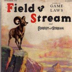 Coleccionismo de Revistas y Periódicos: REVISTA DE CAZA Y PESCA FIELD & STREAM - SEPTIEMBRE 1930 - EN INGLES. Lote 20683192