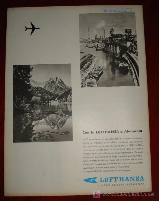 Coleccionismo de Revistas y Periódicos: REVISTA SCALA INTERNACIONAL- EDICION ESPAÑOLA - Nº10 OCTUBRE 1961 - AKIKO - Foto 2 - 8898758