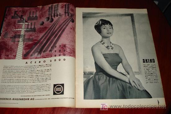 Coleccionismo de Revistas y Periódicos: REVISTA SCALA INTERNACIONAL- EDICION ESPAÑOLA - Nº10 OCTUBRE 1961 - AKIKO - Foto 4 - 8898758
