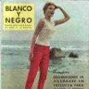 Coleccionismo de Revistas y Periódicos: BLANCO Y NEGRO Nº2459. REVISTA ORIGINAL AÑO 1959.. Lote 26121440