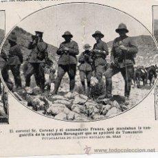 Coleccionismo de Revistas y Periódicos: FRANCO 1922 AFRICA RETAL REVISTA. Lote 8973431