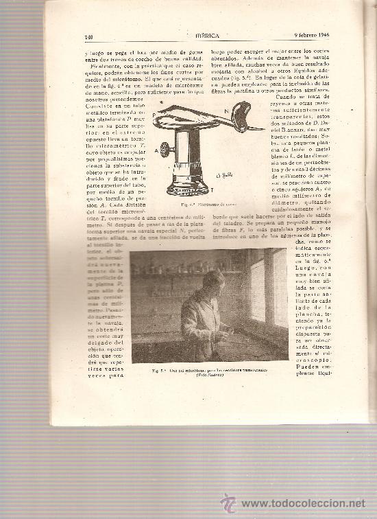 REVISTA IBERICA 56.AÑO 1946.PANTANO DE CIJARA.TEXTIL. (Coleccionismo - Revistas y Periódicos Modernos (a partir de 1.940) - Otros)