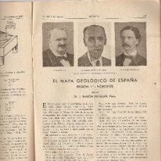 Coleccionismo de Revistas y Periódicos: REVISTA IBERICA 127.AÑO 1947.RADIOTELEFONIA.LOS PERIQUITOS.MAPA GEOLOGICO DE ESPAÑA.. Lote 9095201