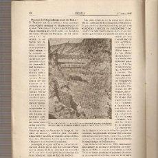 Coleccionismo de Revistas y Periódicos: REVISTA IBERICA 112.AÑO 1947.PANTANO GENERALISIMO.TURIA.GEOLOGIA.PANTEOLOGIA.. Lote 9148419