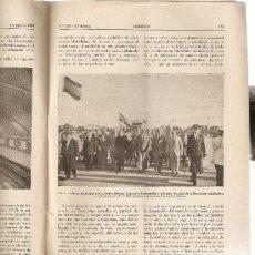 Coleccionismo de Revistas y Periódicos: REVISTA IBERICA 215.AÑO 1951.EL METRO DE BARCELONA.. Lote 9169373