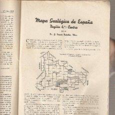 Coleccionismo de Revistas y Periódicos: REVISTA IBERICA 160. AÑO 1949.MAPA GEOLOGICO DE ESPAÑA.CENTRO.. Lote 9173219