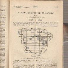 Coleccionismo de Revistas y Periódicos: REVISTA IBERICA 134. AÑO 1948 .EL MAPA GEOLOGICO DE ESPAÑA.REGION NORTE.. Lote 9173395