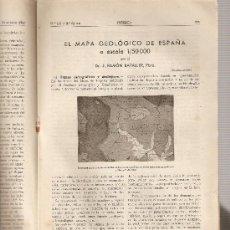 Coleccionismo de Revistas y Periódicos: REVISTA IBERICA 123. AÑO 1947. EL MAPA GEOLOGICO DE ESPAÑA.. Lote 9184298