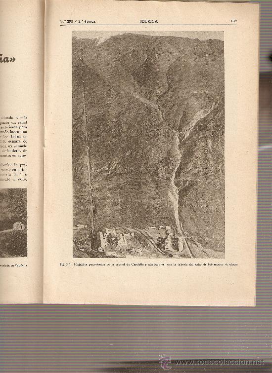 REVISTA IBERICA 203 . AÑO 1951. PROYECTO PANTANO SANTOMERA.UNIO. ELECTRICA DE CATALUÑA. (Coleccionismo - Revistas y Periódicos Modernos (a partir de 1.940) - Otros)
