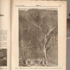 Coleccionismo de Revistas y Periódicos: REVISTA IBERICA 203 . AÑO 1951. PROYECTO PANTANO SANTOMERA.UNIO. ELECTRICA DE CATALUÑA.. Lote 9184760