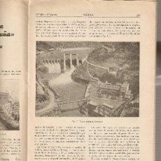 Coleccionismo de Revistas y Periódicos: REVISTA IBERICA 205 .AÑO 1951.UNION ELECTRICA DE CATALUÑA.PALLARESA DEL SEGRE.. Lote 9184810