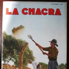 Coleccionismo de Revistas y Periódicos: REVISTA LA CHACRA - DICIEMBRE 1946. Lote 18528027