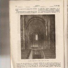 Coleccionismo de Revistas y Periódicos: REVISTA IBERICA 381 . AÑO 1958. RIO MANZANARES.ROMANICO BAGES.MANRESA.PANTANO SANTILLANA.. Lote 9236231