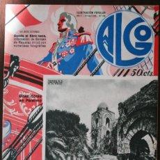 Coleccionismo de Revistas y Periódicos: ALGO, ILUSTRACIÓN POPULAR - AÑO V Nº 196, MAYO 1933. Lote 9239881