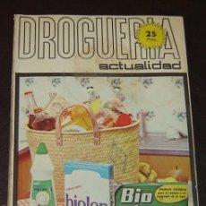 Coleccionismo de Revistas y Periódicos: REVISTA DROGUERIA ACTUALIDAD SEPTIEMBRE OCTUBRE 1970. Lote 25118444