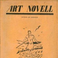 Coleccionismo de Revistas y Periódicos: ART NOVELL. REVISTA DE JOVENTUT (NÚM. 15, MARÇ 1925). Lote 169981552