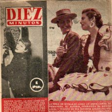 Coleccionismo de Revistas y Periódicos: REVISTA 10 MINUTOS Nº 190 17 ABRIL 1955. Lote 9484030