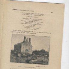 Coleccionismo de Revistas y Periódicos: FASCICLE.ANY 1913.VILAFRANCA DEL PENEDES.OLERDOLA.SANT MARTI SARROCA.SANT SADURNI.TORRELLES DE FOIX.. Lote 9497296
