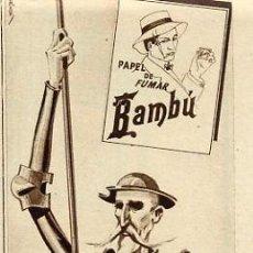 Colecionismo de Revistas e Jornais: QUIJOTE 1933 PAPEL FUMAR RETAL REVISTA. Lote 9597649
