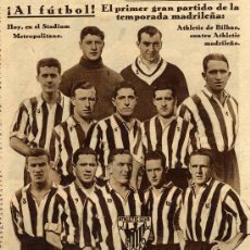 Coleccionismo de Revistas y Periódicos: FUTBOL 1932 BILBAO RETAL REVISTA. Lote 9614022