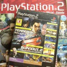 Coleccionismo de Revistas y Periódicos: REVISTA PLAYSTATION2 Nº 23+ DVD CON 10 DEMOS JUGABLES (HITMAN2, SUPERMAN, TEKKEN 4, BURNOUT2,...). Lote 24560834