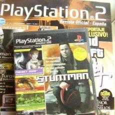 Coleccionismo de Revistas y Periódicos: REVISTA PLAYSTATION2 Nº 20+ DVD CON 5 DEMOS JUGABLES (FIREBLADE, STUNTMAN, PROJECT ZERO,...). Lote 24560829