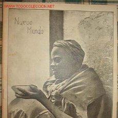 Coleccionismo de Revistas y Periódicos: REVISTA NUEVO MUNDO.. Lote 14678691