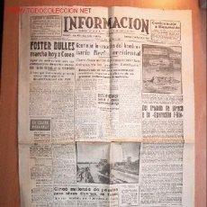 Coleccionismo de Revistas y Periódicos: DIARIO INFORMACIÓN DE ALICANTE 2 AGOSTO 1953. Nº4550. 6 PÁGINAS . Lote 17114372