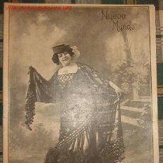 Coleccionismo de Revistas y Periódicos: REVISTA NUEVO MUNDO.. Lote 20054963