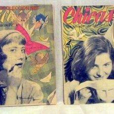Coleccionismo de Revistas y Periódicos: CHICAS LA REVISTA DE LOS 17 AÑOS Nº 105 29 JUNIO 1952 Y Nº 89 9 MARZO 1952 PUBLICIDAD ROBERTA CREMA. Lote 1280524