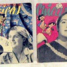 Coleccionismo de Revistas y Periódicos: CHICAS LA REVISTA DE LOS 17 AÑOS Nº 189 7 MARZO 1954 Y Nº 117 21 SEPT 1952 PUBLICIDAD ULLOA ÓPTICO. Lote 1280528
