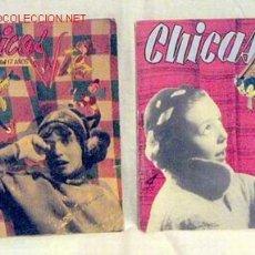 Coleccionismo de Revistas y Periódicos: CHICAS LA REVISTA DE LOS 17 AÑOS N 186 14 FEBRERO 1954 Nº 24 3 DICIEMBRE 1950 PUBLICIDAD BEBÉ INGLÉS. Lote 1280541