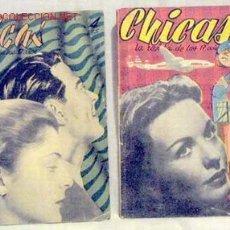 Coleccionismo de Revistas y Periódicos: CHICAS LA REVISTA DE LOS 17 AÑOS Nº 73 18 NOVIEMBRE 1951 Y 154 21 JUNIO 1953. Lote 1280570